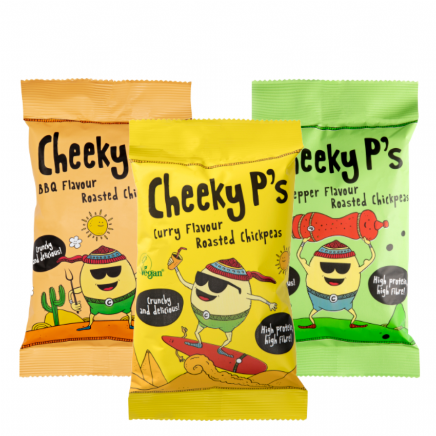 Cheeky P's Mixed Roasted Chickpeas 3x 50g